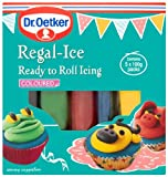 Dr Oetker Ready To Roll Regal Ice Icing 5 Colours 500 g (Pack of 3)