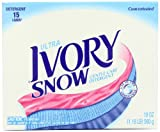 Ivory Snow Ultra Powder Detergent 15 Loads 19 Oz (Pack of 3)