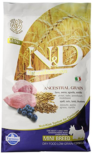 FARMINA - N&D LOW ANCESTRAL GRAIN ADULT MINI AGNELLO & MIRTILLO 2,5 KG. - 1617