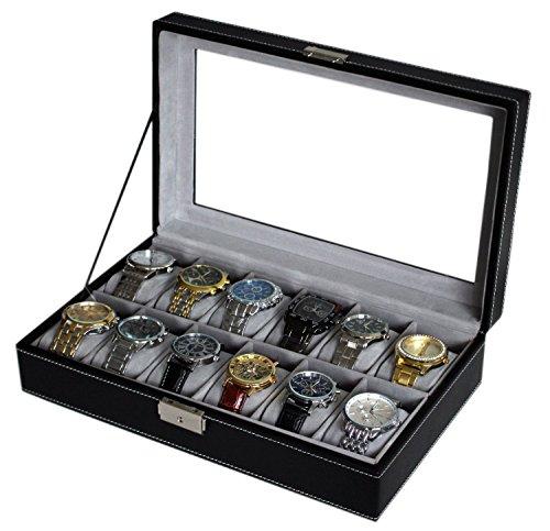 jinrui-negro-estuche-para-relojes-pu-leather-watch-box-organizer-watch-case-jewelry-box-watch-jewelr