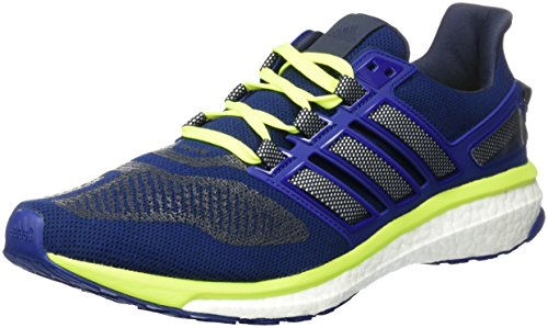 adidas Energy Boost 3, Scarpe Running Uomo, Blu (Unity Ink/Ftwr White/Solar Yellow), 42 2/3 EU