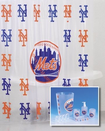 New York Mets 7 Piece Frosty Bath Set at Amazon.com