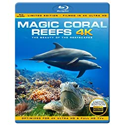 MAGIC CORAL REEFS 4K - The Beauty Of The Reefscapes [Blu-ray]