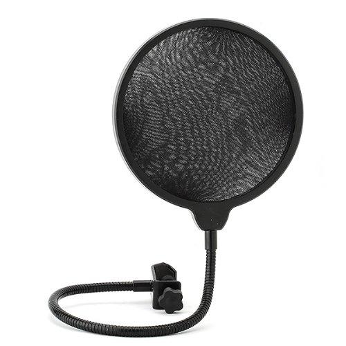 Neewer® Black Studio Clamp On Microphone Pop Filter Gooseneck Mic Wind Screen Mask Shied