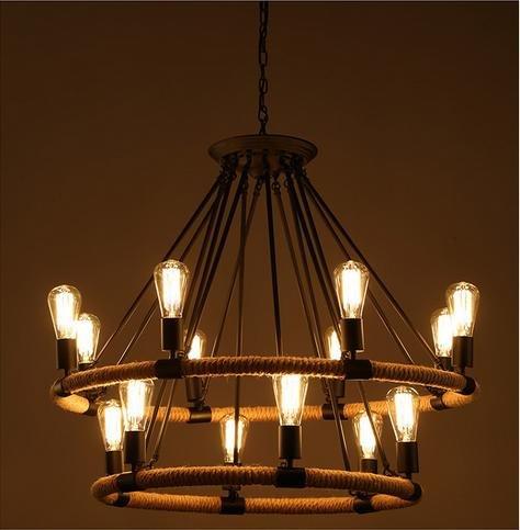 lina-contemporary-bedroom-european-american-restaurant-retro-rope-wrought-iron-chandelier-14