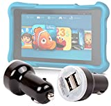 """DURAGADGET 1 USB Port Car Charger Adapter for Amazon Fire HD Kids Edition Tablet 6"""" & Amazon Fire HD Kids Edition Tablet 7"""""""