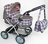 Silver Cross Ranger Dolls Pram (Milan Fabric)