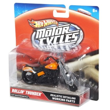Hot Wheels Motorcycles Rollin' Thunder 1:18 - 1