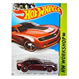 Hot Wheels 2013 HW Workshop 2013 Chevy Camaro Special Edition, Red (Super Treasure Hunt)