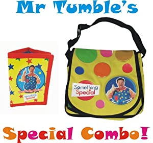 Something Special Mr Tumbles Spotty Bag & Wallet Combo