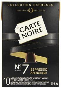 Carte Noire Espresso No 7 Aromatique 10 Coffee Capsules 53 g (Pack of 8)
