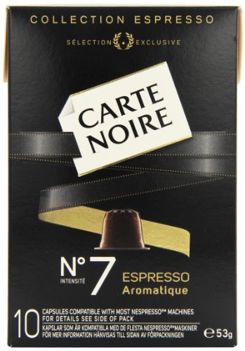 Carte Noire Espresso No 7 Aromatique 10 Coffee Capsules 53 g (Pack of 8)
