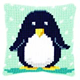 Vervaco Cross Stitch Cushion Baby Penguin