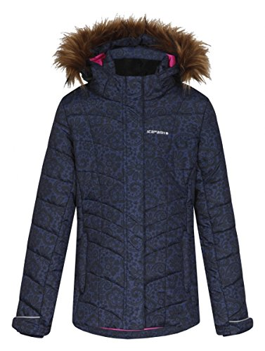 Icepeak Sienna Jr. Girls Winterjacke Blue-Black jetzt bestellen