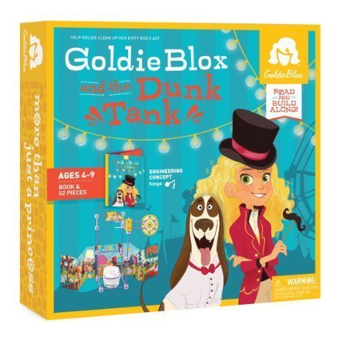 GoldieBlox and the Dunk Tank by Goldie Blox [Toy] by GoldieBlox