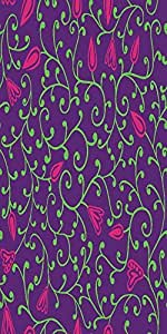 Snoogg Seamless Pattern With Leaf Solid Snap On - Back Cover All Around Prote...