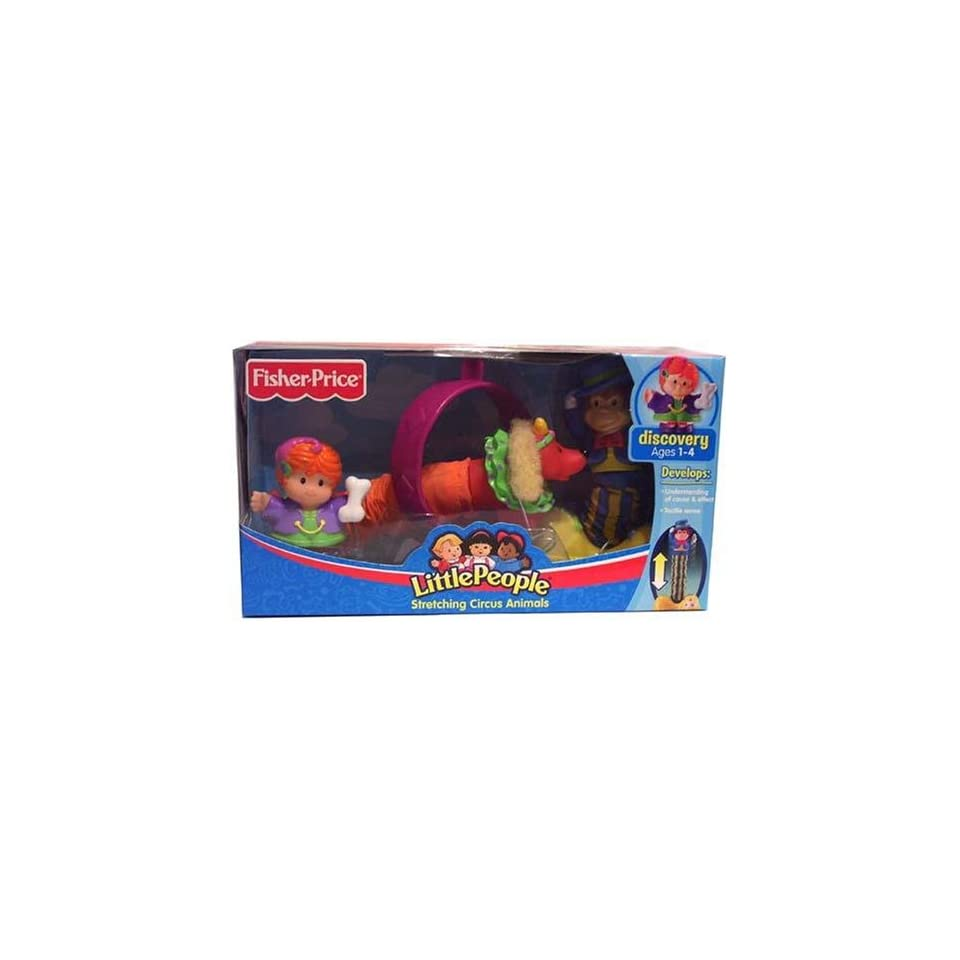 Fisher Price Little People Stretching Circus Animals