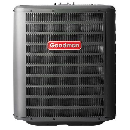 Goodman 2 5 ton 13 seer air conditioner r 410a 638353330644 for Fan motor for goodman ac unit