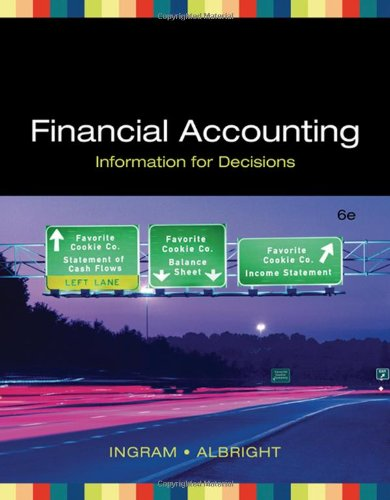 Financial Accounting: Information for Decisions...
