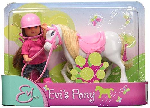 Simba 105737464 Bambola Evi Pony 3 Modelli (Sog.A Scelta)