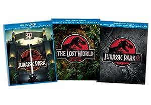 Jurassic Park Blu-ray Trilogy (Jurassic Park 3D / The Lost World: Jurassic Park / Jurassic Park III)