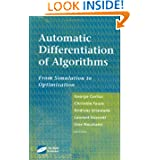 Automatic Differentiation of Algorithms: From Simulation to Optimization
