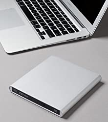 Aluminum External USB Blu-Ray Writer Super Drive for Apple--MacBook Air, Pro, iMac