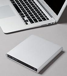Aluminum External USB Blu-Ray Player/DVD/CD Combo for Apple--MacBook Air, Pro, iMac, Mini