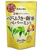 がんこ茶家 べにふうき・甜茶・ペパーミント 2g×20袋