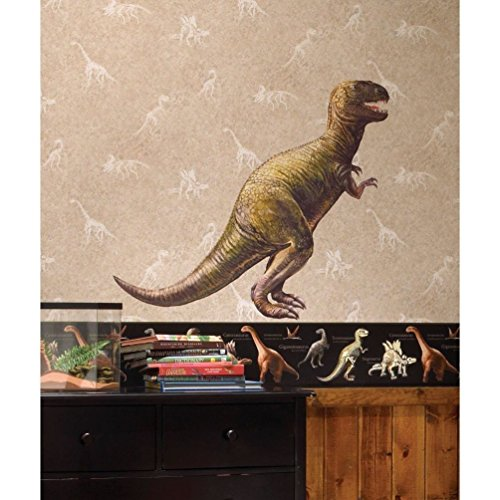 Lunarland DINOSAUR BiG Wall Mural Stickers T-REX Room Bedroom Decorations Decals Boys NEW