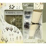 Jewelry Basics Class In A Box Kit, Silver Tone Earrings