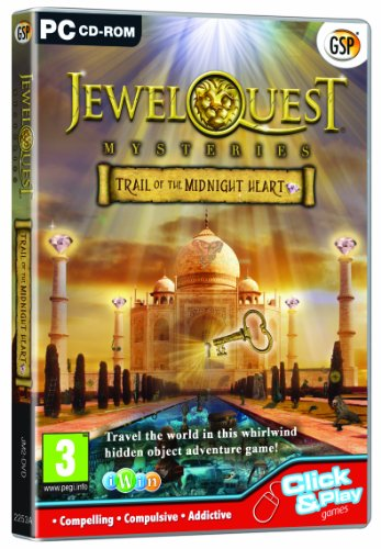 Jewel Quest Mysteries 2: Trail of the Midnight Hea (PC)