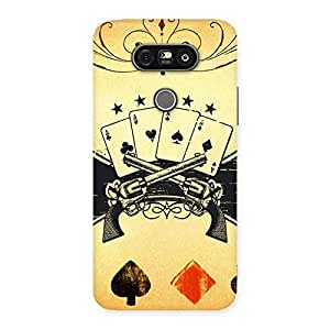 Special Guns And Cards Back Case Cover for LG G5