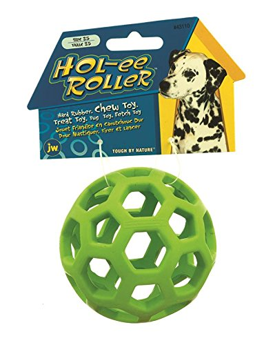 JW Pet Company Hol-ee Roller Dog Toy, 5-Inches (Colors Vary) (Company Of Dogs compare prices)