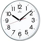 SEIKO CLOCK (セイコークロック) 掛け時計 スタイリッシュデザイン 電波時計 ツイン・パ KX301H