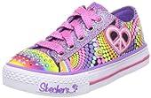Skechers Twinkle Toes S Lights Heart Sparks Lighted Sneaker (Toddler/Little Kid/Big Kid)
