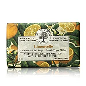 Wavertree & London Limoncello luxury soap (1 bar)