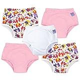 Bambino Mio - Braga de aprendizaje, Mixed Girl, Pink Elephant, 2 - 3 años , pack de 5 unidades