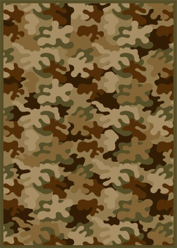 Children Area Rug, Home Dynamix 4'x5' Olive