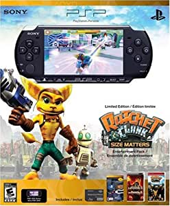PlayStation Portable Limited Edition Ratchet & Clank Entertainment Pack - Piano Black