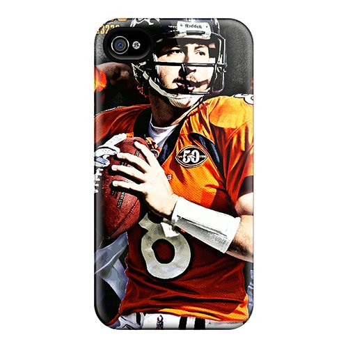 Cute Appearance Cover/Tpu Wvz3581Ubyc Denver Broncos Case For Iphone 4/4S