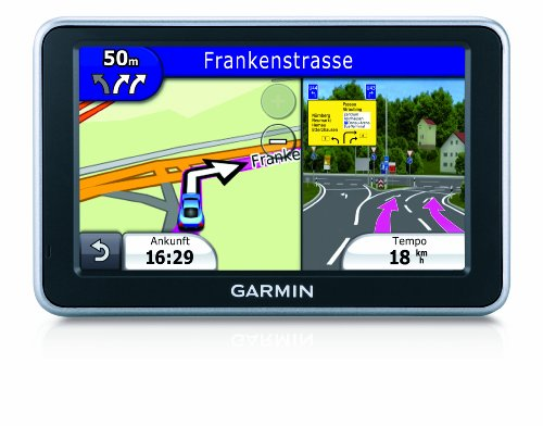 Garmin Nuvi 2460LT Widescreen Satellite Navigation System with Lifetime Traffic Subscription with street maps for Full Europe (45 countries) - 5 inch