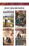 Love Inspired Historical July 2014 Bundle: A Hero in the Making\Groom by Design\Second Chance Cinderella\The Warriors Vow