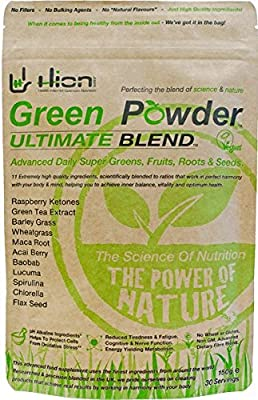 ? BLACK FRIDAY MEGA DEAL!!! ? Nominated Best Vitamin Supplement in The Healthy Awards 2016!! Won Best In Test - Cycling Weekly. Green Powder - ULTIMATE BLEND. Read all the VERIFIED 5 STAR reviews!! by Hion