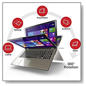 Toshiba Radius Satellite P55W-B5318 Convertible 2-in-1 Ultrabook Review
