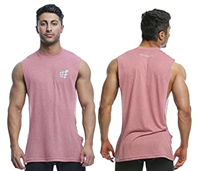 Muscle Cut Stringer Workout T-shirt Muscle Tee Bodybuilding Tank Top
