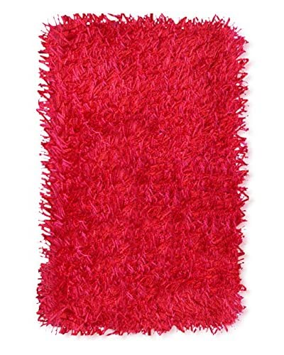 The Rug Market Coral Rug, Red, 16 x 27