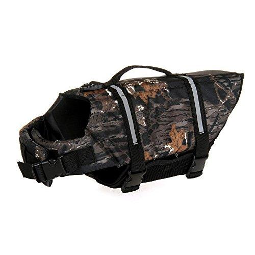 assorted-color-dog-life-jacket-reviews-adjustable-dog-life-vest-preserver-dark-camo-xs