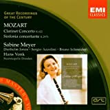 "Great Recordings Of The Century - Mozart (Klarinettenkonzert / Sinfonia concertante)von ""Sabine Meyer"""
