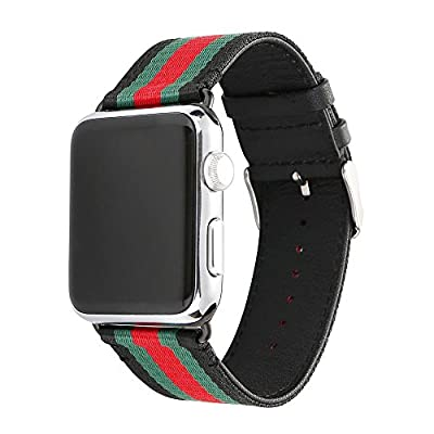 IWatch Silicone Replacement Band,Howill TM Newest color Soft Silicone Sport Style Replacement apple watch Strap for Apple Wrist Watch